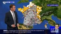 Un temps très pluvieux sur une grande partie de la France avec un épisode orageux particulièrement violent attendu dans le sud-est