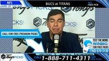 Buccaneers Titans NFL Pick 10/27/2019