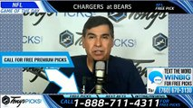 Chargers Bears NFL Pick 10/27/2019
