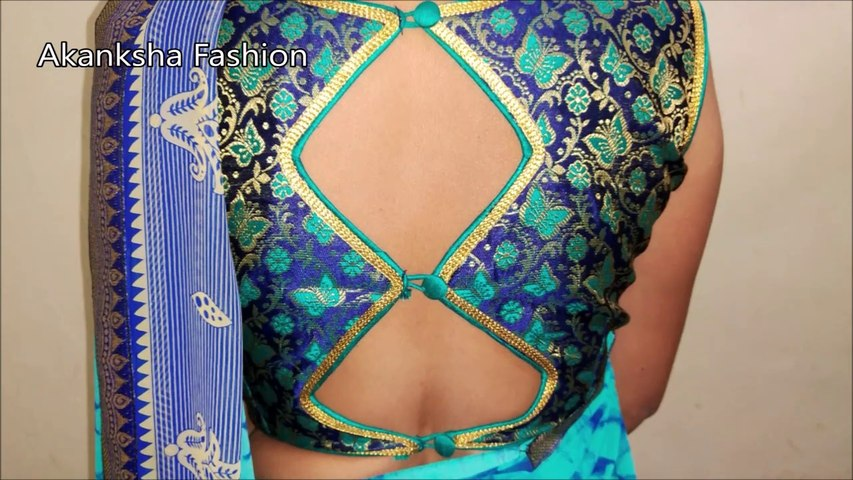 Latest Boat Neck Blouse Design || Blouse Design