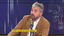 """SNCF : """"Il ne faut pas mépriser les gens, il ne faut pas avoir de mépris de classe"""", affirme le député La France insoumise Alexis Corbière"""