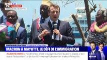 Macron à Mayotte, le défi de l'immigration (4) - 22/10