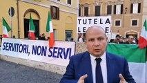 Elezioni Umbria - Fratelli dItalia al fianco delle forze dellordine (22.10.19)