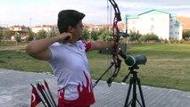Milli okçu Süleyman Araz'ın hedefi Avrupa şampiyonluğu - AKSARAY