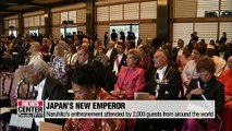 Japan's new emperor pledges to act according to constitution