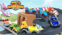 Paw Patrol Mighty Pups Super Paw Die-Cast Vehicles with Mighty Twins : Ella and Tuck