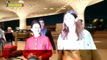Spotted Alia Bhatt and Vicky Kaushal at the airport