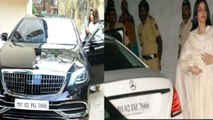 Jhanvi Kapoor's new car Mercedes-Maybach has a sweet connection to her mom Sridevi | FilmiBeat