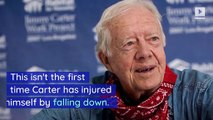 Jimmy Carter Hospitalized After Falling and Fracturing Pelvis