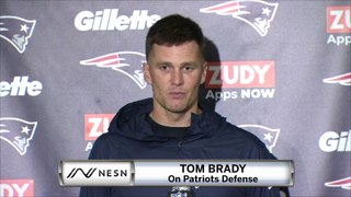 Tom Brady On Patriots Defense, Win vs. Jets