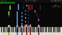 Charlie Puth - We Don't Talk Anymore feat. Selena Gomez Synthesia