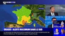 Orages: alerte maximum dans le sud (2/2) - 22/10