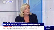 """Élection présidentielle de 2022: pour Marine Le Pen, """"Robert Ménard est tout seul"""""""