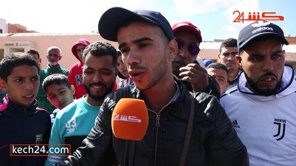 احتجاجات أمام سوق الشرف بمراكش بسبب إستفادة أناس غرباء