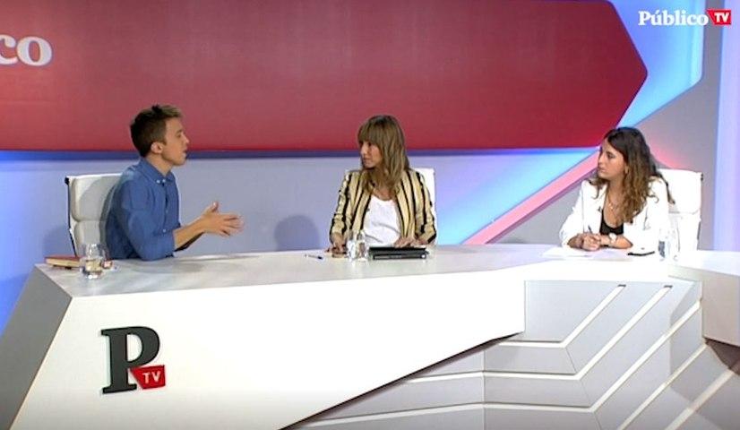 """Entrevista a Iñigo Errejón: """"Quiero que se elija democráticamente al jefe de Estado, pero la prioridad es que la gente llegue a fin de mes"""""""