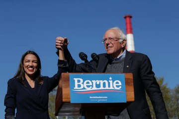 Bernie Sanders Says He Would Put AOC in His Presidential Administration