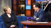 Julie Andrews Gets Candid About Therapy on 'The Late Show' | THR News
