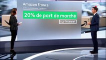 Amazon : un chiffre d'affaires colossal en France, un nombre d'emplois plus modeste