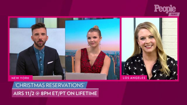 Melissa Joan Hart Says Her New Movie 'Christmas Reservations' Has a 'Very Love Boat' Vibe