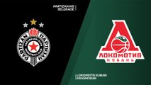 Partizan NIS Belgrade - Lokomotiv Kuban Krasnodar Highlights   7DAYS EuroCup, RS Round 4