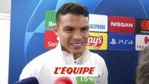 T. Silva «Pas un moment décisif de la saison» - Foot - C1 - PSG