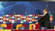 Galatasaray - Real Madrid maçının ardından - Galatasaray Teknik Direktörü Fatih Terim(1)