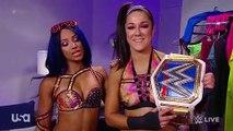 Bayley and Sasha Banks Has A Message For Charlotte Flair and Becky Lynch