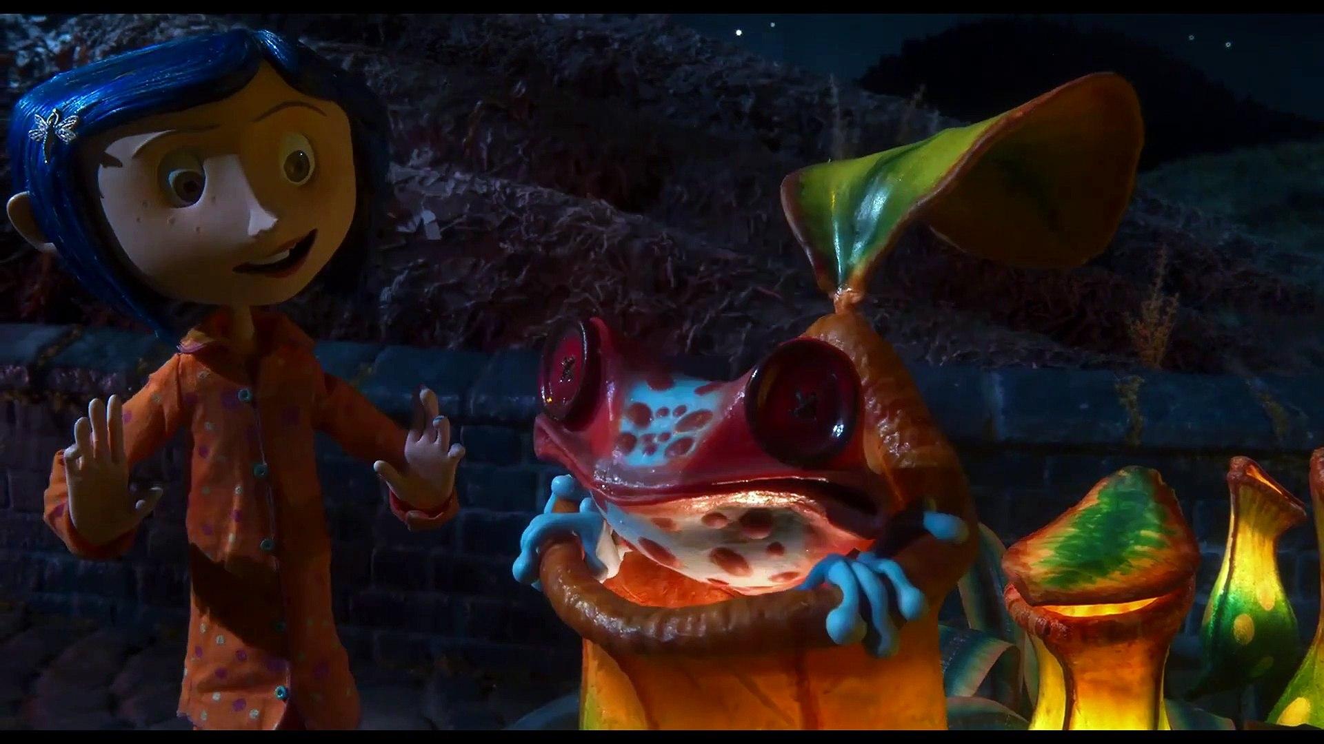 Coraline Movie Clip The Magic Garden Video Dailymotion