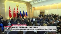 Turkey, Russia agree Kurdish YPG withdrawal, joint patrols