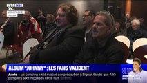 L'émotion des fans de Johnny Hallyday en écoutant son album posthume en avant-première