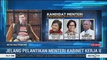 Hari Ini Jokowi Akan Umumkan Kabinet Kerja Jilid II