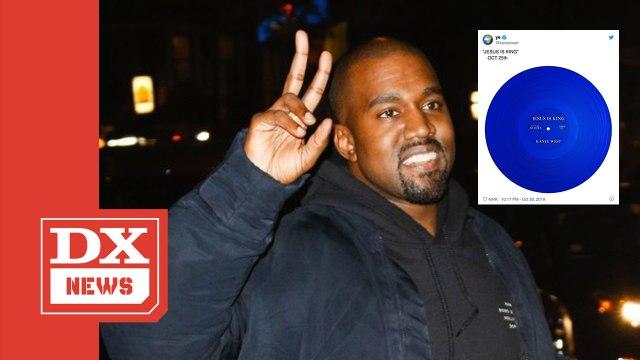 """Kanye West Opens """"Jesus Is King"""" Pre-Orders"""