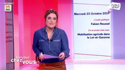 Fabien Roussel - Public Sénat mercredi 23 octobre 2019