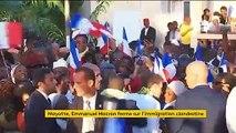 Mayotte : Emmanuel Macron ferme sur l'immigration