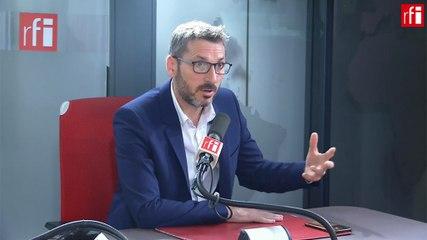 Matthieu  Orphelin - RFI mercredi 23 octobre 2019