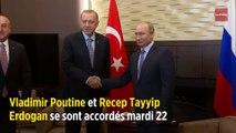 Accord russo-turc sur un contrôle de la frontière syrienne