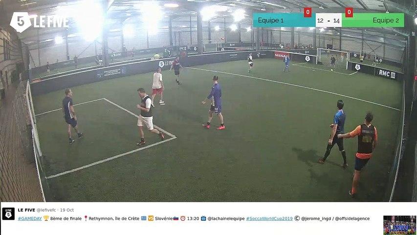 Equipe 1 VS Equipe 2 - 22/10/19 19:00 - Loisir LE FIVE Toulouse Colomiers