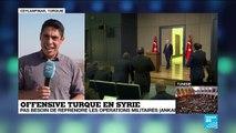"""Offensive turque en Syrie : """"Une situation catastrophique pour les civils"""""""