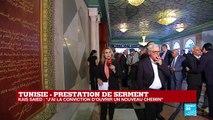 """Prestation de serment de Kaïs Saïed, président tunisien : """"Un moyen de se présenter aux Tunisiens"""""""