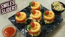 How To Make Sliders   McCain Smiles Sliders   Coleslaw Recipe   Sliders Recipe By Varun