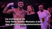 Tony Yoka : sa compagne Estelle Mossely annonce sa 2ème grossesse et... leur séparation