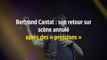 Bertrand Cantat : son retour sur scène annulé après des « pressions »