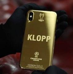 Le téléphone en or Ligue des champions de Jürgen Klopp