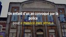 Un enfant d'un an convoqué par la police pour « menace avec arme »