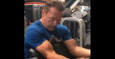 Arnold Schwarzenegger training for Terminator Dark Fate 2019
