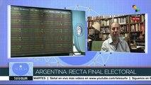 Es Noticia: Campaña presidencial de Argentina entra en la recta final
