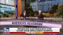 Newt Gingrich weighs in on Dems' closed-door impeachment hearings