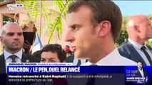 Emmanuel Macron / Marine Le Pen, duel relancé - 23/10