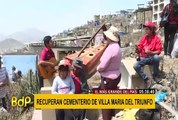VMT: Cementerio Nueva Esperanza se alista a recibir un millón de visitantes