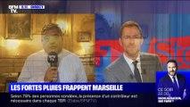 Les fortes pluies frappent Marseille - 23/10